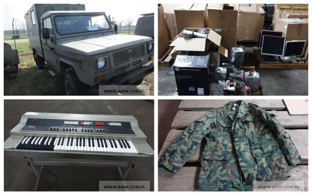 Agencja Mienia Wojskowego wyprzedaje sprzęt. Zobaczcie, co wystawili na sprzedaż > > >