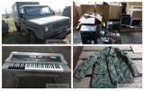 Agencja Mienia Wojskowego wyprzedaje sprzęt wojskowy. Komputery, ubrania, a nawet instrumenty muzyczne. Przetarg AMW 31.05.2021