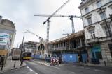Hala Koszyki powraca. Inwestor odbudowuje zabytkowy budynek [ZDJĘCIA]