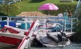 Wypadek na Jeziorze Chełmżyńskim. Helikopter LPR w akcji [ZDJĘCIA]