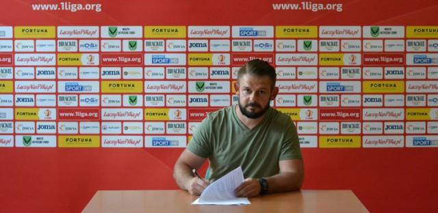 Nowym trenerem GKS-u Jastrzębie został 35-letni Paweł Ściebura.