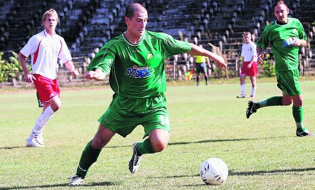 Dawid Wieczorek zdobył zwycięskiego gola dla Chełmianki