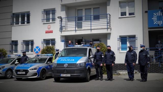 Policjanci z powiatu wodzisławskiego oddali hołd zastrzelonemu policjantowi z Raciborza