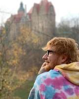 Ed Sheeran, wielka gwiazda muzyki, na Dolnym Śląsku [ZDJĘCIA]