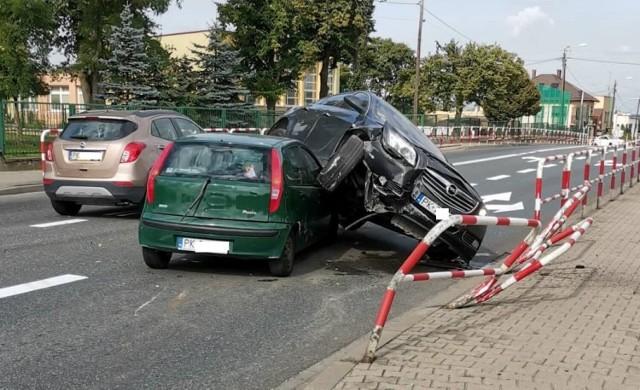 Wypadek w Kościelnej Wsi