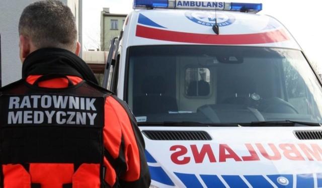 Pijany mieszkaniec gminy Woźniki zaatakował ratownika medycznego