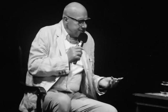 Piotr Machalica na scenie Teatru Małego w Tychach 3.10.2020