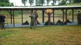 Szkolenie 10 Świętokrzyskiej Brygady Obrony Terytorialnej na jędrzejowskiej strzelnicy