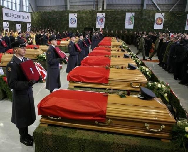 Uroczystości żałobne ofiar katastrofy