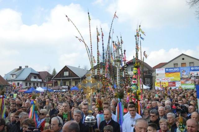 W Lipnicy murowanej co roku odbywa się m.in. słynny Konkurs Palm Wielkanocnych