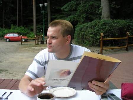 Mariusz Paluch, prezes parku zapewnia, że klienci gościńca nie zawiodą się jego ofertą.