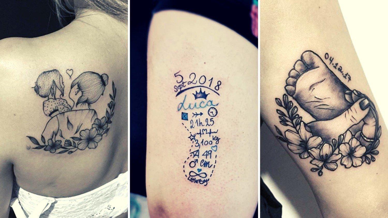 Tatuaż Dla Mamy Imię Dziecka Czy Coś Więcej Zobacz