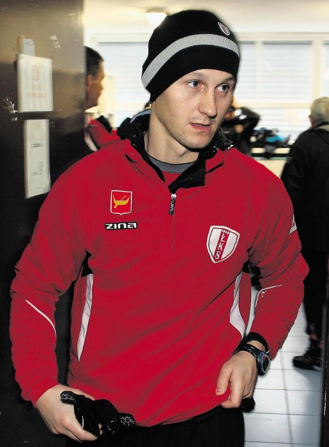 Michał Łabędzki szykuje formę na rundę wiosenną