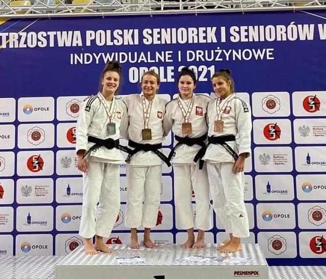 Medalistki mistrzostw Polski w kat. 52 kg