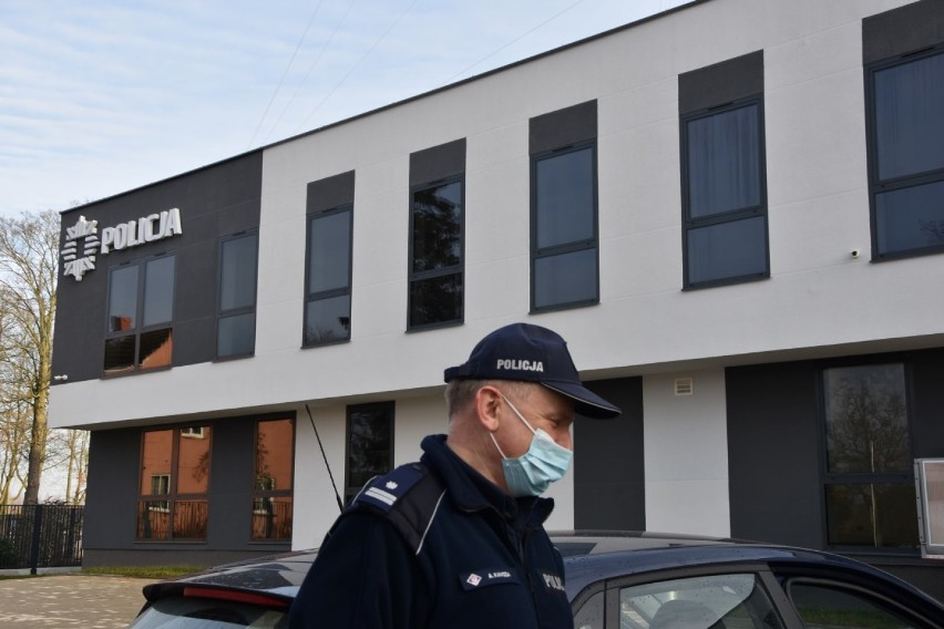 Nowa siedziba policji w Sławnie