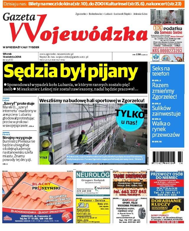 Gazeta Wojewódzka 01.04 - 07.04