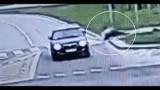 Świdnik: Potrącił rowerzystę i uciekł z miejsca zdarzenia. Jest już w rękach policji. Zobacz wideo