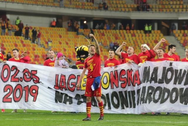 W finale na PGE Narodowym Lechia Gdańsk zmierzy się z Jagiellonią Białystok.