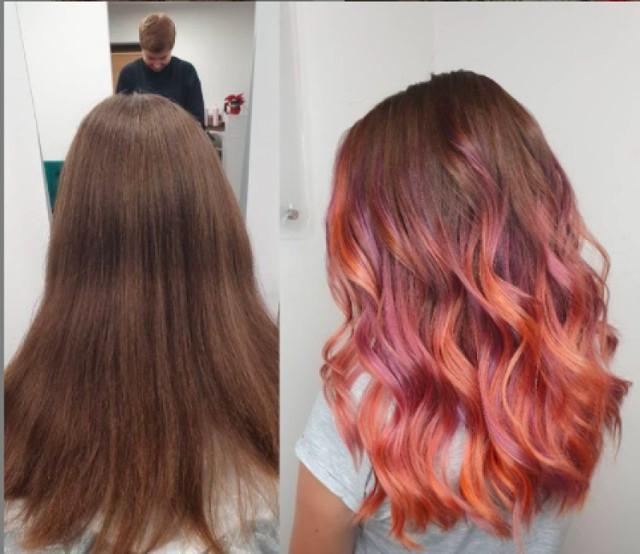 Modne fryzury i koloryzacje wykonane przez sądeckich fryzjerów