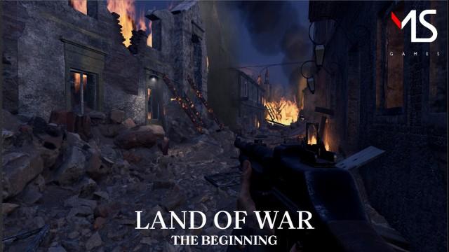 Land of War. Warszawskie studio przygotowuje strzelankę w czasie II wojny światowej. Jest kolejny zwiastun