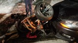 Tragiczny wypadek na krajowej jedenastce koło Budzynia [ZDJĘCIA]