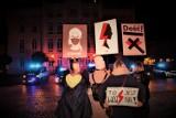 WSCHOWA. Na strajk kobiet we Wschowie przyszło dziś 27.10.2020 kilkaset osób [ZDJĘCIA]
