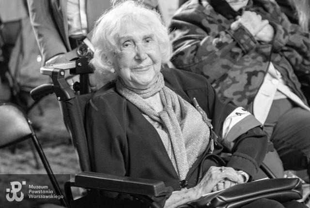Zmarła Lucyna Adamkiewicz. Miała 94 lata