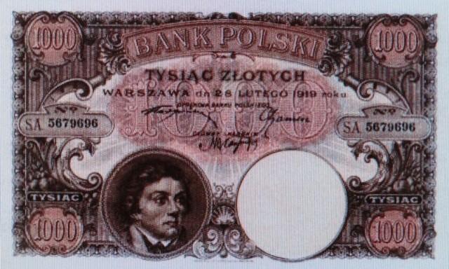 Mroczny Poznań - tajemnica banknotu tysiączłotowego