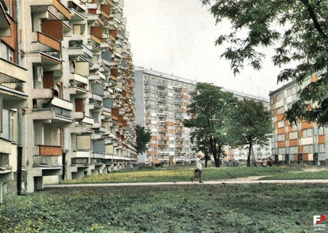 1977 rok, Popowice na zdjęciu T. Drankowskiego.