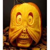 Najdziwniejsze dynie na Halloween. Takich wzorów się nie spodziewałeś! [GALERIA]