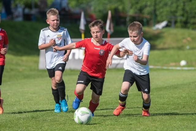 Turniej piłkarski U-9, zorganizowany z okazji 100-lecia Garbarni Kraków