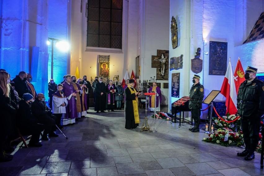 Msza św. w intencji śp. Pawła Adamowicza, prezydenta Gdańska...