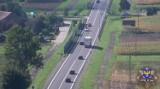 Dron policyjny na opolskich drogach. Posypały się pierwsze mandaty