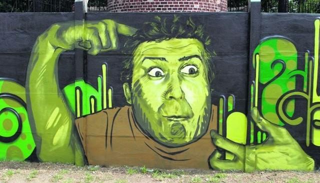 Graffiti nie zawsze szpeci ściany budynków, czasem może być ozdobą