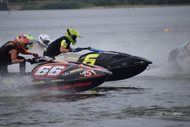 Mistrzostwa świata skuterów wodnych na Jeziorsku