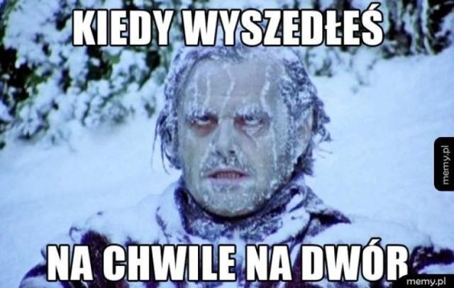 Zima daje się we znaki. Zobacz najlepsze zimowe memy, czyli śmieszne obrazki i zdjęcia.