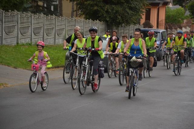 Trasa V Kikolskiego Rajdu Rowerowego  wiodła uroczymi zakątkami gmin Kikół i Chrostkowo.