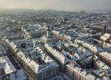 Kalisz z lotu ptaka. Zobacz zdjęcia miasta wykonane za pomocą drona. GALERIA