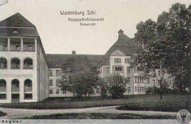 Szpital przy ul. Batorego w Wałbrzychu na starych zdjęciach