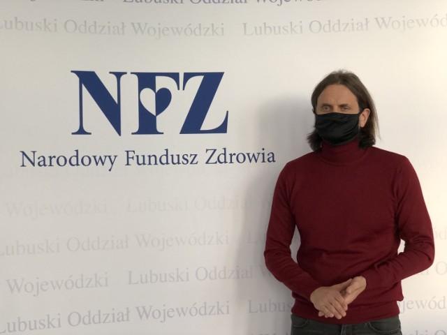 Piotr Bromber - dyrektor lubuskiego oddziału Narodowego Funduszu Zdrowia