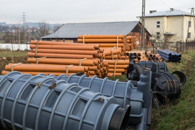 Gmina Łużna będzie miała swoją oczyszczalnię ścieków i kolejne 12 km sieci