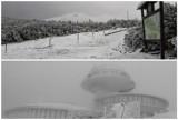 W Karpaczu deszczowa jesień, a na Śnieżce biała i mroźna zima. Oto zdjęcia Karkonoszy