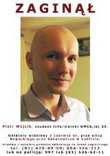Zaginął Piotr Wójcik, student z Lublina