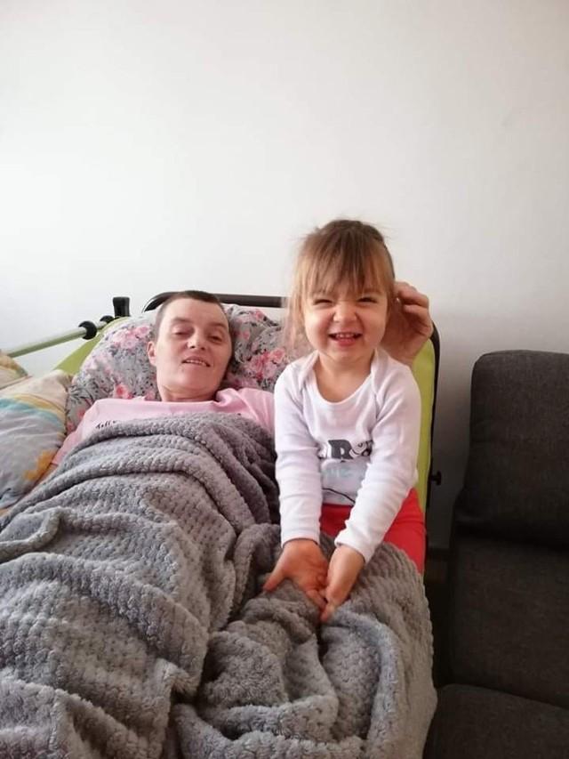Dzięki wsparciu internautów pani Agnieszka będzie mogła szybciej wrócić do zdrowia i do swojej 2-letniej córeczki.