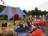 Dni Łomży 2021. Trwa piknik rodzinny z cyrkowymi atrakcjami [zdjęcia]