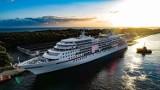 """Wycieczkowiec """"MS Europa"""" w Gdańsku. To pierwszy statek wycieczkowy w sezonie 2020 w Porcie Gdańsk. Zobacz zdjęcia"""
