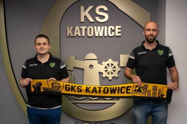 Jakub Bochenek i Grzegorz Słaby czyli nowy dyrektor i trener siatkarzy GKS Katowice