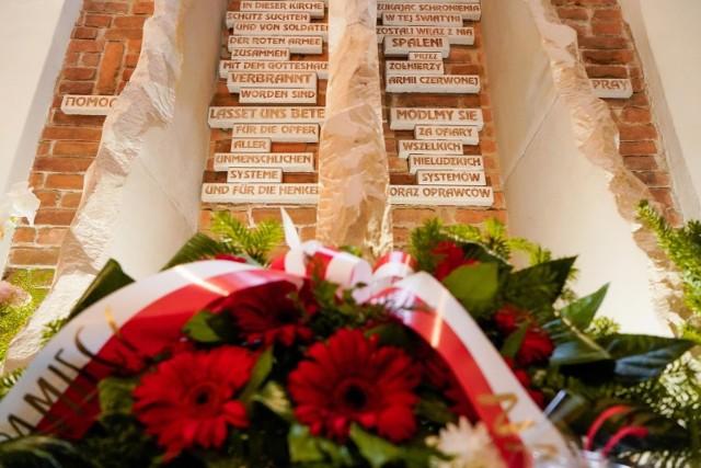 W Gdańsku upamiętniono ofiary Armii Czerwonej na Pomorzu w 1945 roku