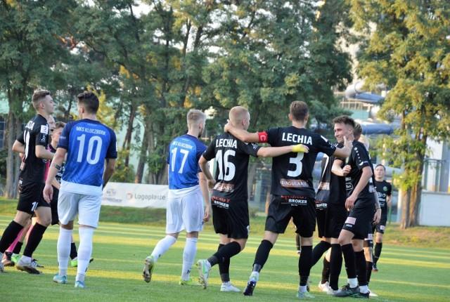 Piłkarze Lechii Zielona Góra wygrali z MKS-em Kluczbork 2:0.