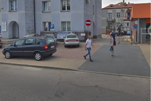 Kłobuck i mieszkańcy Kłobucka w Google Street View